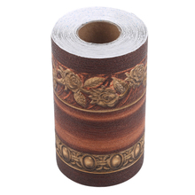 Floral Wallpaper Living-Room-Decoration Border Roll Home Stereo 3D Three-Dimensional