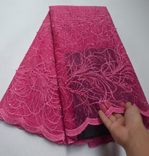 Factory offers lace fabric 2019 African Organza sequins with beads Fabric For Christmas Party Dresses Winn639u