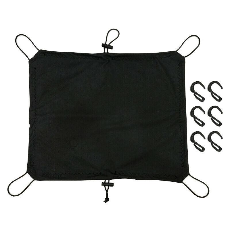 Dependable Motorcycle Trunk Seat Rear Rack Luggage Shelf Cover Waterproof Elastic Mesh Bag Helmet Net Tool Outdoor Riding