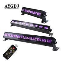 LED Disco UV Violet Black Lights DJ 36W Par Lamp UV For Party Christmas Bar Lamp Laser Stage Wall Washer Spot Light Backlight