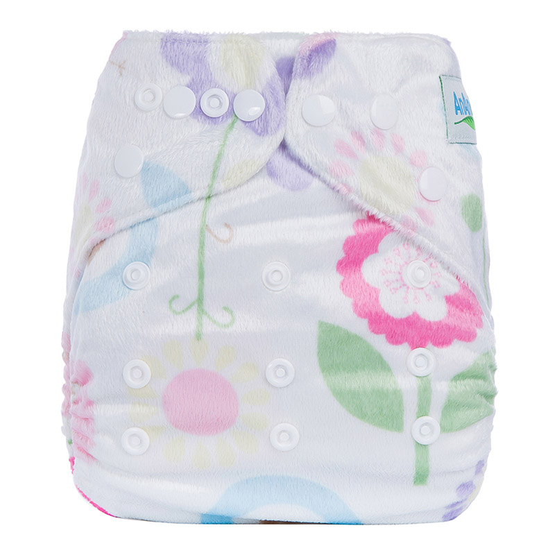 Washable Nappy Eco Friendly Cloth Diapers Reusable One Size Night Cloth Diaper Baby Diaper China D15