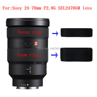 New genuine original Zoom Rubber Ring + Manual focus rubber ring repair parts For Sony FE 24 70mm F2.8 GM SEL2470GM Lens|Len Parts| |  -