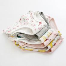 3 предмета в комплекте хлопковый для новорожденных девочек;