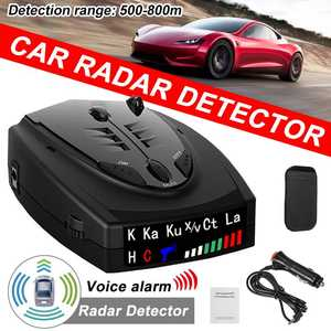 Car-Radar-Detector Led-Display Voice-Alert-Alarm-Warning Vehicle-Speed Auto Car-Speed-Testing-System