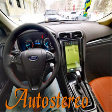 Android 9.0 128+4G Car GPS Navigation For Ford Mondeo Fusion MK5 2013+ Auto Head Unit Multimedia Player Radio Tape Recorder Navi