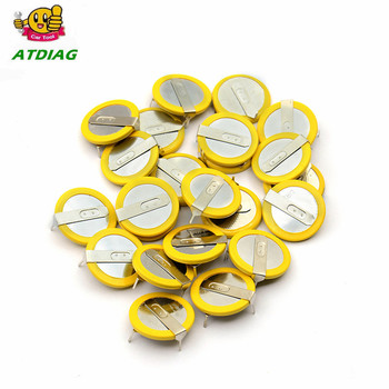 20pcs/lot  New 3.6V LIR2025 Rechargeable Battery Free Shipping For BMW 3 5 Series E46 E39 Remote Key Battery