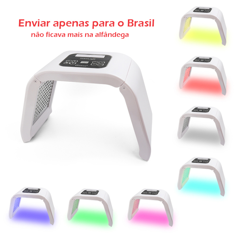 7 Colors PDT Led Facial Mask Photon Light Therapy Skin Rejuvenation Device Spa Acne Remover Anti-Wrinkle BeautyTreatment