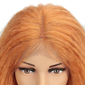 """Image 5 - MAGIC Hair Synthetic Lace Front Wigs For Black Women 38""""Inch Heat Resistant Wig Braided Hair Green Pink Lace Wig Synthetic Hair"""