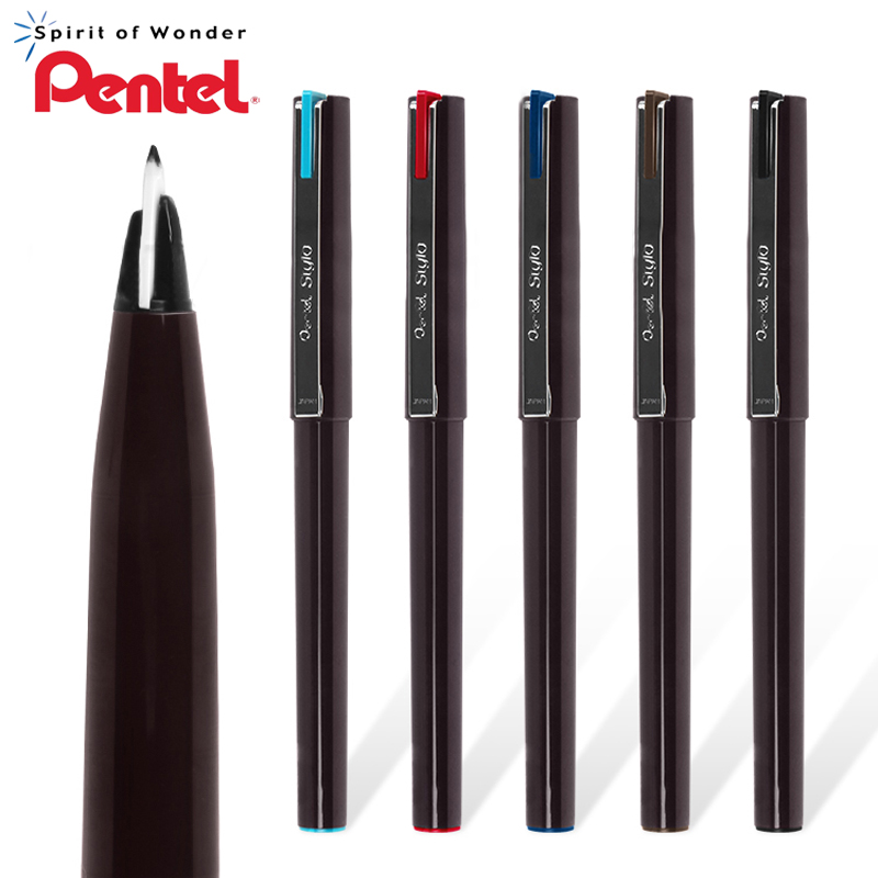 1Pcs PENTEL Color Sketch Pen JM20 Sketch Signature Hand-painted Composition Comic Pen Resin Nib A Variety Of Colors Optional