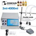 ZONESUN машина для наполнения жидкостью Электрический цифровой насос управления 0,5-4000 мл для парфюмерной воды, сока, эфирного масла с 2 головкам...
