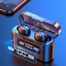 Waterproof Earbuds Headsets Charging-Box Touch-Control Tws Bluetooth Sports with Mic