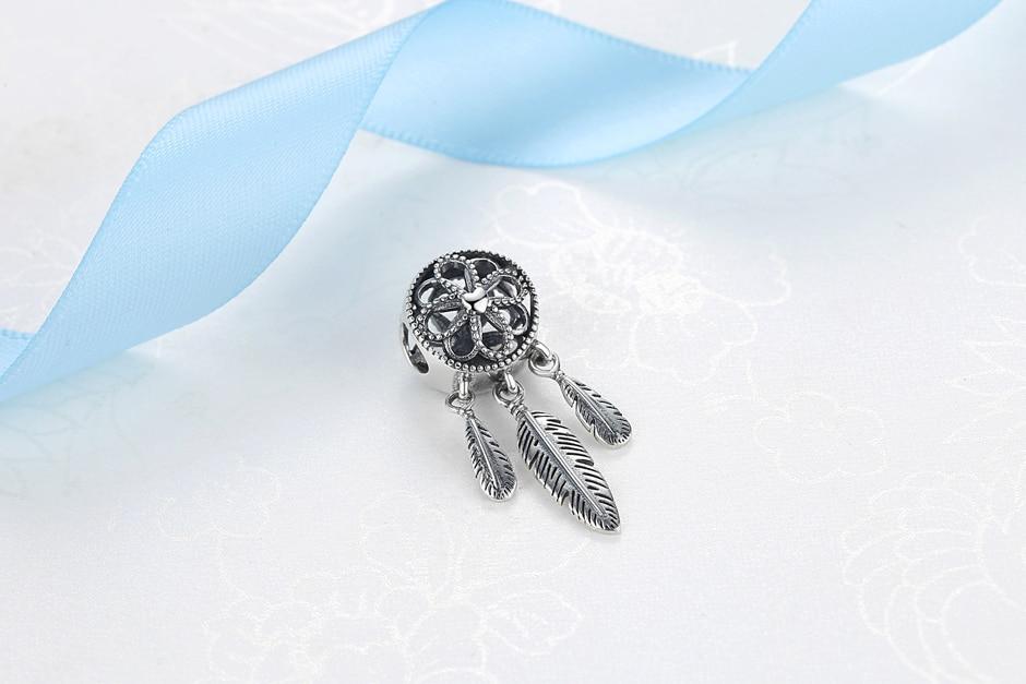 Dream Catcher Pendent Charms Bracelet Women DIY Jewelry CLOVER JEWELLERY