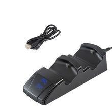 Per Controller di gioco PS4 Joystick maniglia caricatore USB doppia stazione di ricarica rapida USB Dock per Playstation 4 PS4 Slim/Pro