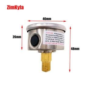 Image 3 - Manomètre de pompe à Air à main PCP 40MPA / 6000psi manomètre haute pression Double gamme M10 * 1.0