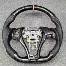 Steering-Wheel Juke Qashqai Nissan Carbon-Fiber for Altima Sylphy Tiida X-Trail Leaf