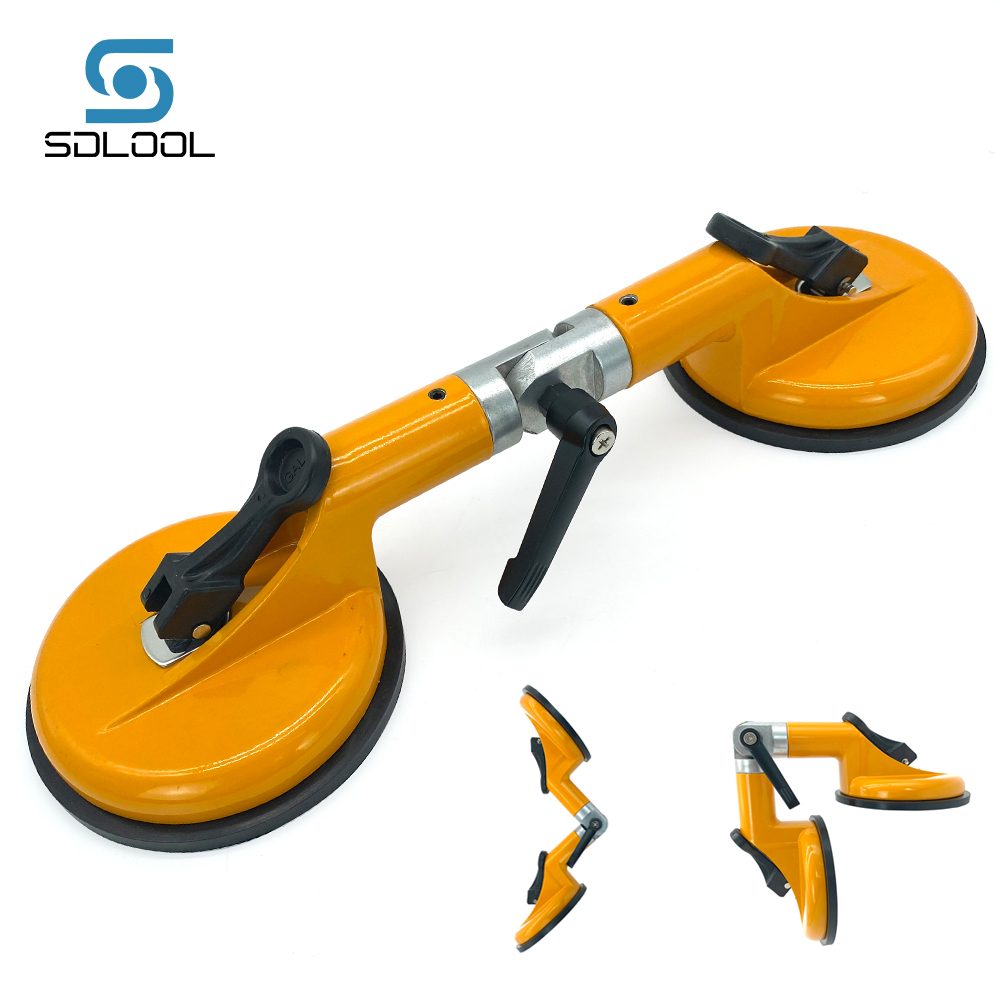Flexible Glass Splicing Fixer Suction Cup Adjustable Seam Jointing Tool for Marble Granite Glass Tiles