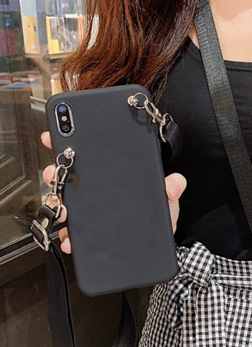 顧客独占ストラップストラップケース iphone xr ため xs xsmax × 7 8 6 6s プラスショルダーストラップ
