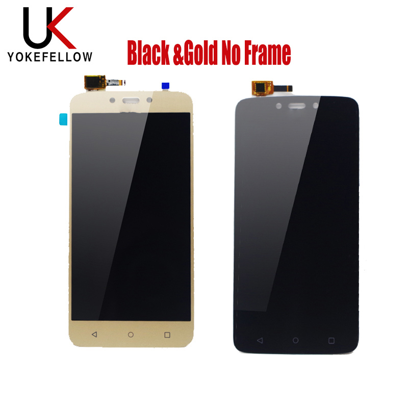 Touch Screen For Motorola Moto C Plus CPlus XT1721 XT1722 <font><b>XT1723</b></font> XT1724 LCD Display Screen Front Glass Digitizer With Frame image