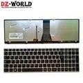 Новая Оригинальная испанская клавиатура с подсветкой для ноутбука lenovo Z51-70 Ideapad 500-15ISK серии 5N20H03520 5N20H03456
