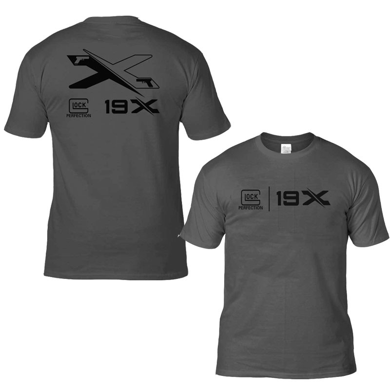 2019 New Products Summer Army Fans Glock Anniversary Short Sleeve T-shirt Cotton Comfortable Large Sizes Availiable 19x Printed