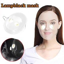 1/2 PC Visable Lampblack Face Mask Kitchen Supplies Transparent PVC Sand Proof Hat Durable Face Mask For Adult Hot Sale