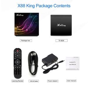 Image 5 - X88 King 4GB 128G Amlogic S922X TV Box Android 9.0 Dual Wifi BT5.0 1000M 4K GooglePlay Store Youtube 4K Set top box Media Player
