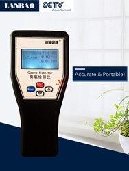 0.01 Risoluzione di Ozono Meter Portable Accurate di Ozono Detector produttore prezzo mg ppm sensibile inglese Analizzatore di Ozono