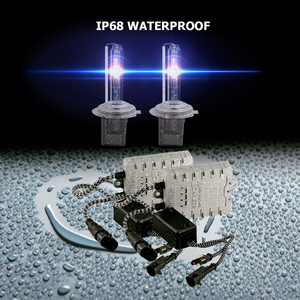 Image 5 - CNSUNNYLIGHT 1s Veloce Luminoso 55W HID Faro Allo Xeno H7 H1 H3 H11 H8 HB3 HB4 9005 9006 881 h27 4300K 6000K 8000K Lampada Della Nebbia