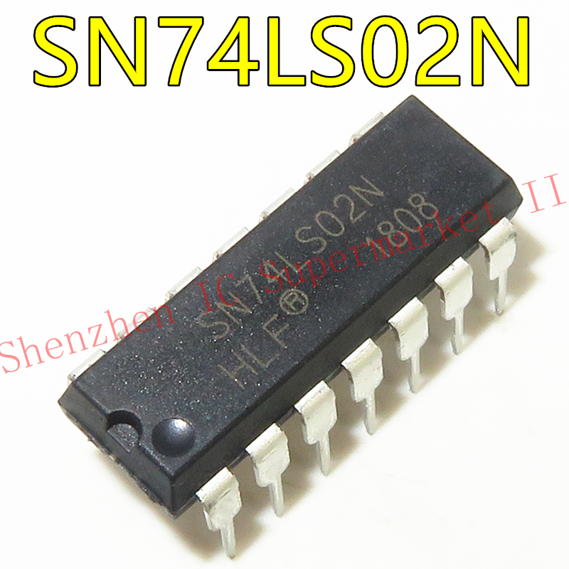 1pcs/lot HD74LS02P DIP14 HD74LS02 DIP SN74LS02N 74LS02 new and original IC In Stock