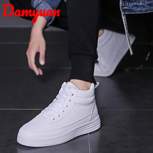 New Autumn White Heightening Shoes Warm and Dry Running  Fashion Sports Comfortable Jogging Leisure