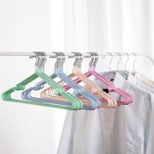 Hanger Drying-Rack Underwear Trousers Coat Wardrobe Plastic 10pcs Anti-Skid Towel Household-Tools