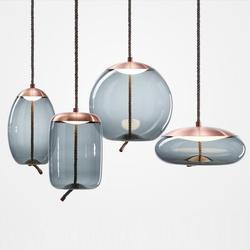 Nordic nowoczesny konopnej liny witraże żyrandol restauracja okno Bar lampki nocne sypialnia fryzjer u nas państwo lampy lampa wisząca światła wiszące w Wiszące lampki od Lampy i oświetlenie na
