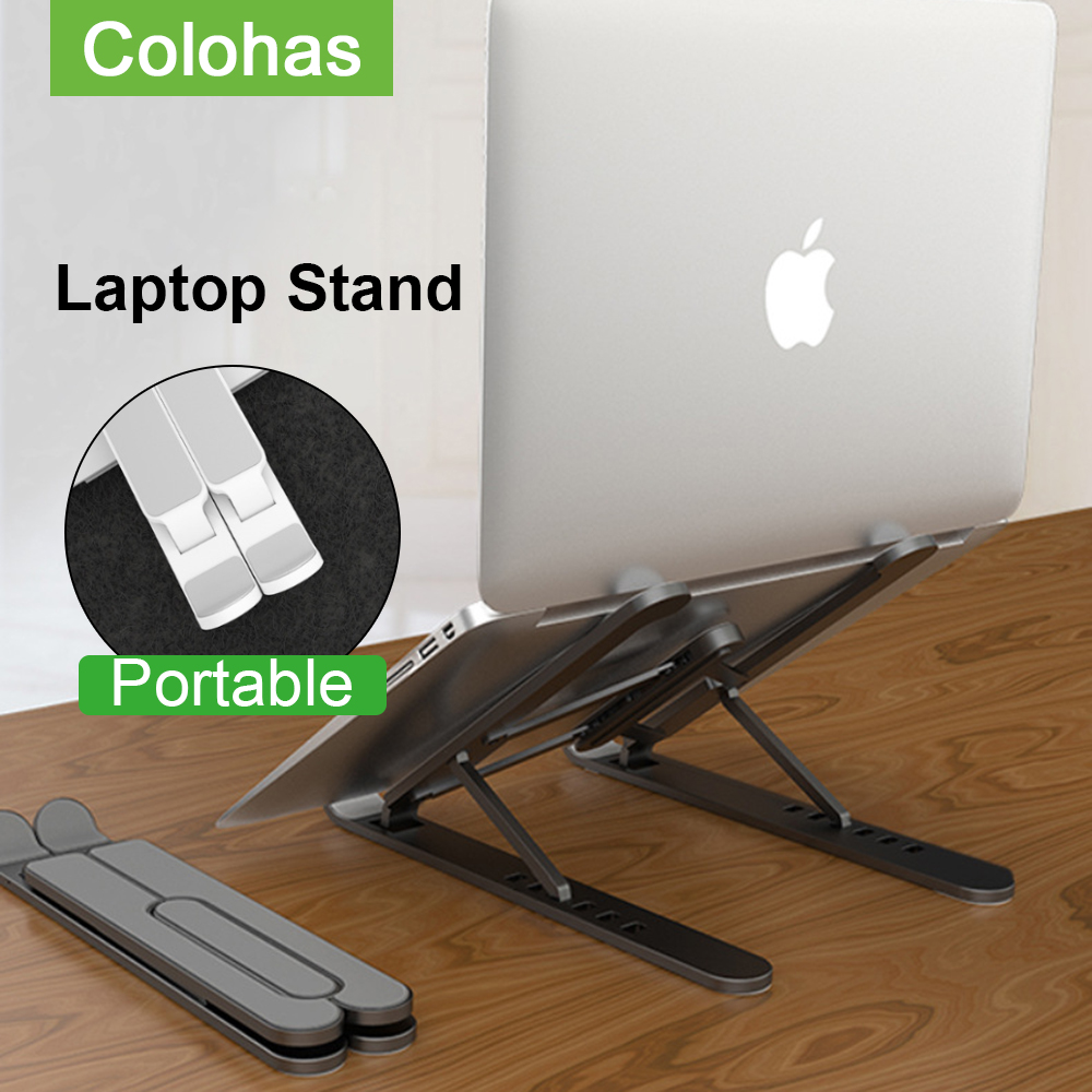 Folding Adjustable Laotop Stand Holder For Mackbook Pro Air Support Notebook Holder Portable Computer Riser Cooling Stand