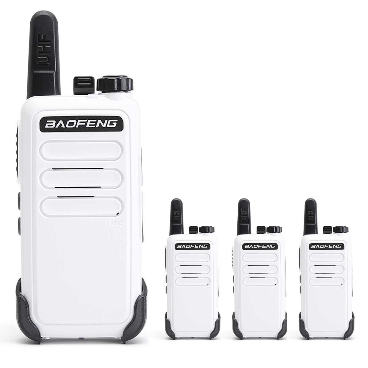 Baofeng Transceiver Walkie-Talkie VOX Handheld Two-Way-Radio UHF Bf-888s Mini Portable