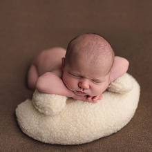 Baby Photography Posing Pillows Crescent Pillow Child Newborn Small Cushion Newborn Photography Props Basket Filler Fotografia(China)