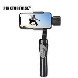 PINKTORTOISE H4 Smooth 3-Axis Handhelp Gimbal Flow Stabilizer Universal for Smartphone