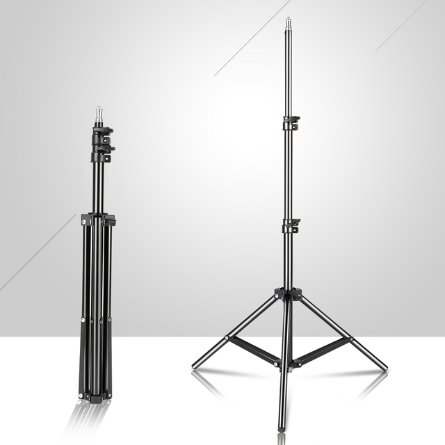 """150cm/59inch Photography Tripod Light Stand With 1/4"""" Screw For Brithday Party Meeting Travel Wedding"""