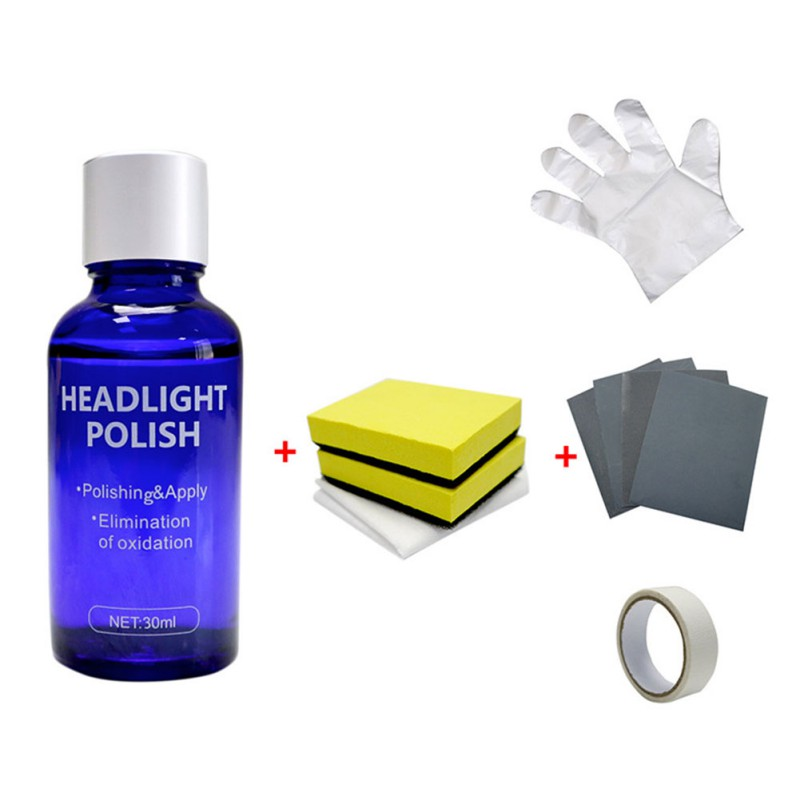 Car Headlights Oxidation Liquid Repair Agent Ceramic Coat Super Hydrophobic Glass Coating Polishing Coating Liquid Repair Tool
