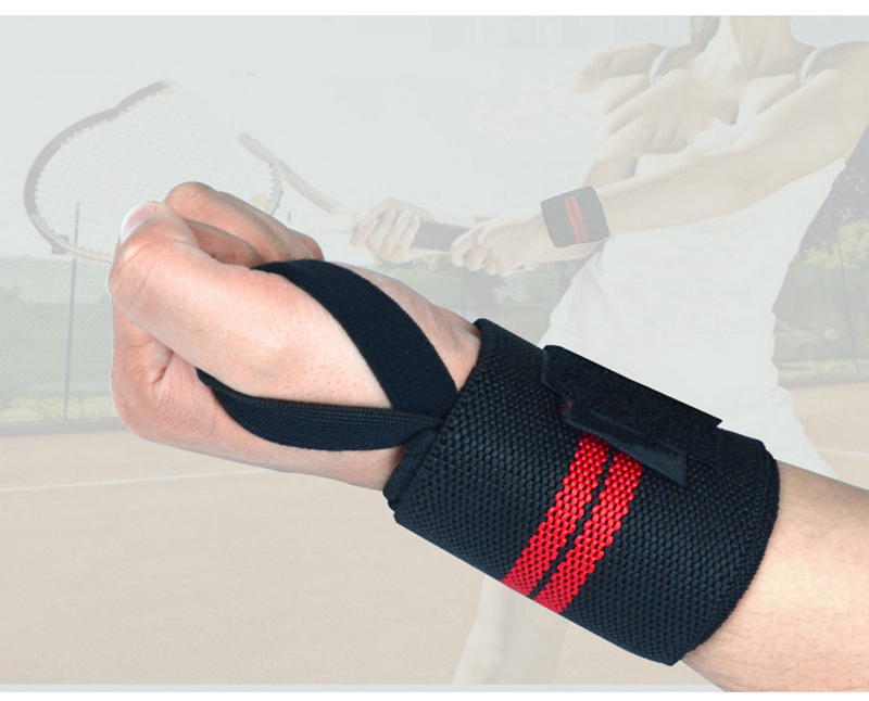Weight Lifting Strap Fitness Gym Sport Wrist Wrap Bandage Hand Support Wristband (9)