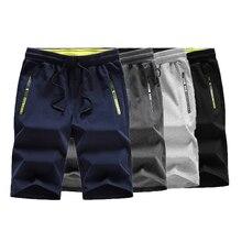 TJWLKJ Mens casual shorts Summer Casual Drawstring Breathable Straight Cargo Shorts High Quality Male Elastic waist short Homme