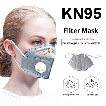 50pcs KN95 Mouth Mask FFP3 KN95 Mask Activated Carbon Filter Mouth-muffle Face Mask Anti-Dust Mascarilla Respirator Mask