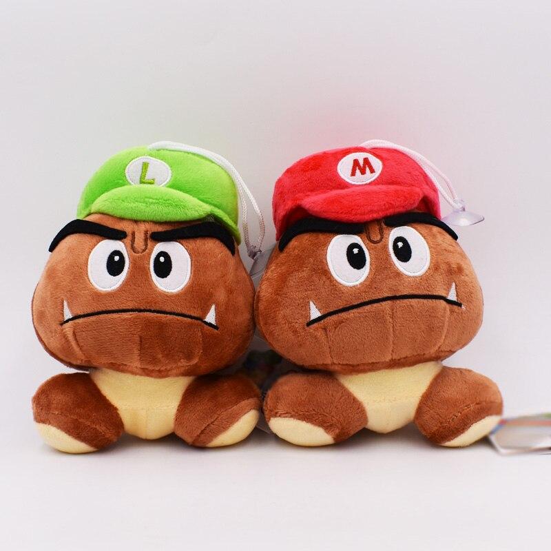 5'' Super Mario Goomba Plush Stuffed Dolls Plush Toys Soft Gift For Kids