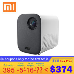 Xiaomi Mini Projector Beamer TV Video WIFI Mijia Home Cinema Portable 1920--1080 Full-Hd