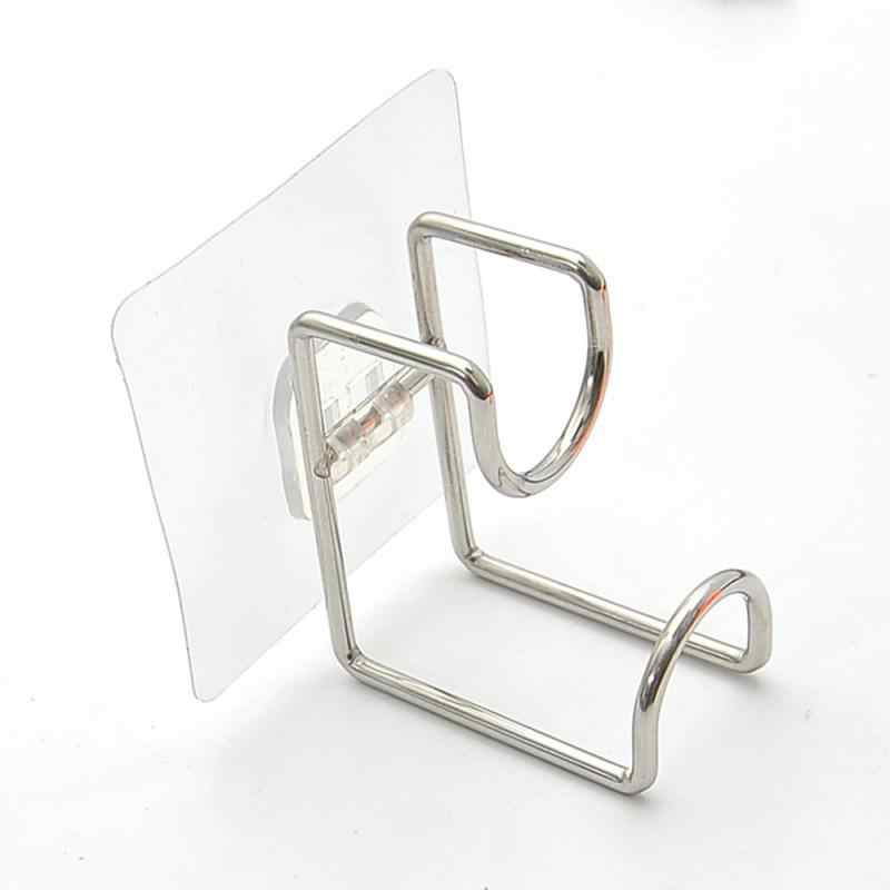 Gancho de cola invisível, forte padrão de gancho sem traços de parede de pendurar cola de cozinha gancho criativo ventosa livre de unhas armazenamento doméstico suprimentos