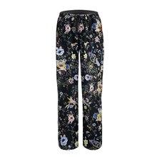 Sleep Bottoms For Women's Pajamas Pants Loose Lounge Pants D