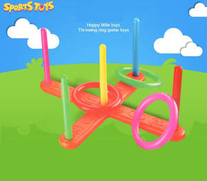 Toys Educational-Toys Garden-Game Kids NEW Set Fun Toss Hoop Juguetes Pool Quoits Plastic-Ring
