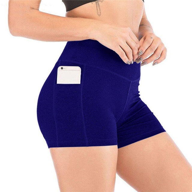 2021 New Short Women's Cycling Shorts Dancing Gym Biker Hot Active Lady Stretch Exercise Sports Running Short 3