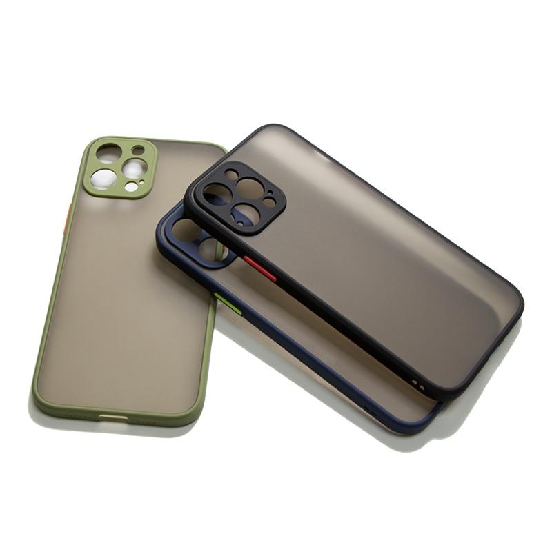 Матовый чехол M Parts для телефона, защитный чехол для iPhone 12 Pro Max 11Pro XS XR 8 7 6 6S Plus, задняя крышка для iPhone 12|Бамперы|   | АлиЭкспресс