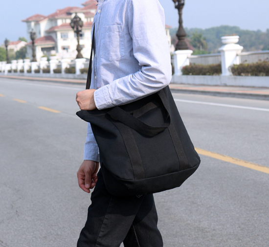 Simple Fresh Style Men Shoulder Bag Trendy High Capacity All-match Commuter Bag Mens Casual Work Bags Bolso Hombre DF349