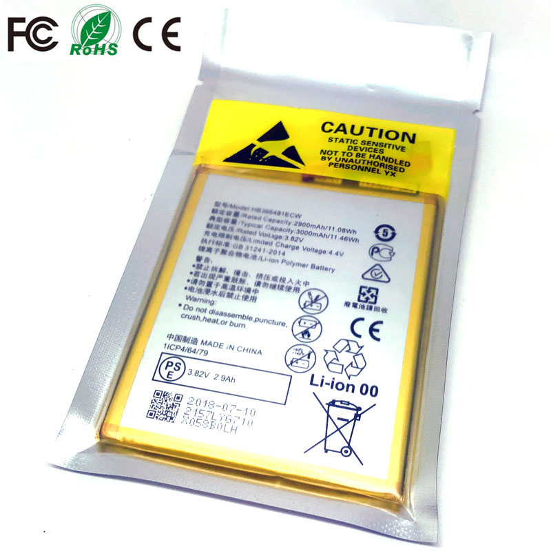 HB366481ECW <font><b>Battery</b></font> For <font><b>Huawei</b></font> honor 8 9i V9 Play P9 G9 5C 7C 7A Enjoy 7S 8 8E Nova Lite 3E GT3 y6 II p20 <font><b>p10</b></font> P8 lite 2017 lx1 image